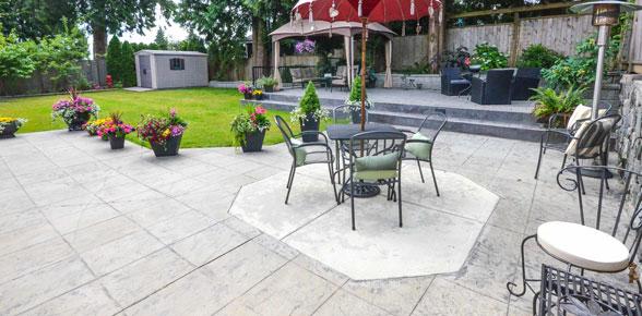 building a paver patio
